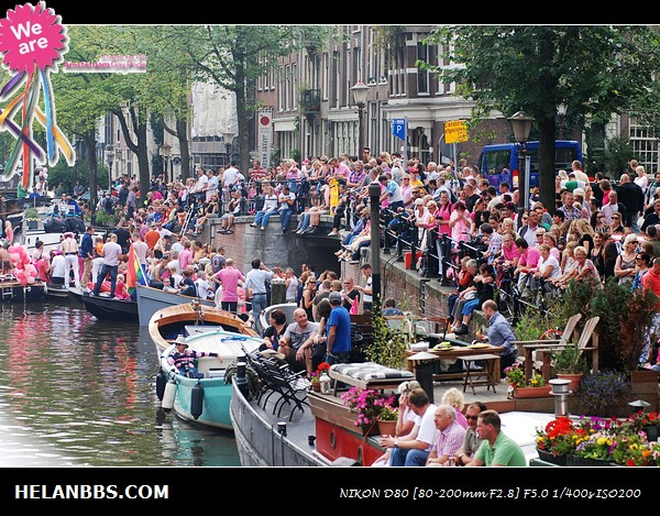 2011年阿姆斯特丹同性恋大游行狂欢活动 Gay Pride (20)