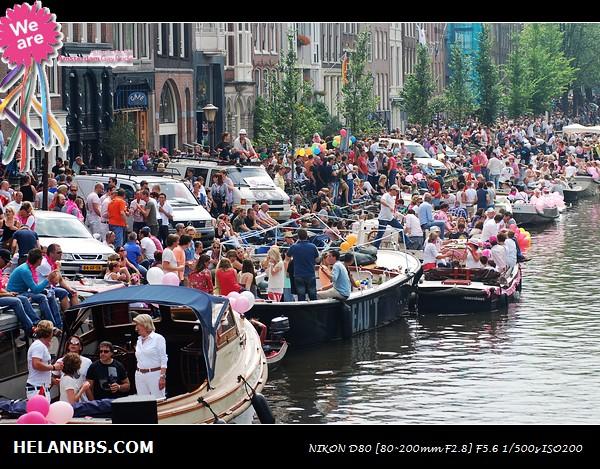 2011年阿姆斯特丹同性恋大游行狂欢活动 Gay Pride (19)
