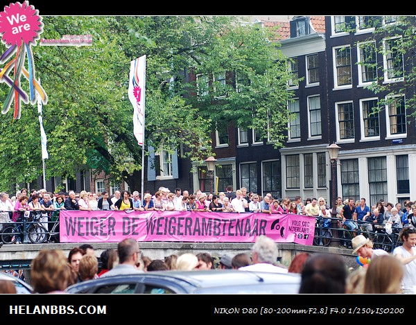 2011年阿姆斯特丹同性恋大游行狂欢活动 Gay Pride (16)