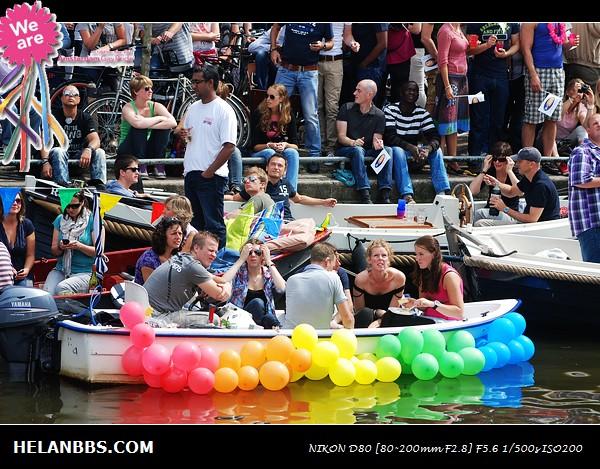 2011年阿姆斯特丹同性恋大游行狂欢活动 Gay Pride (12)