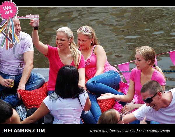 2011年阿姆斯特丹同性恋大游行狂欢活动 Gay Pride (11)