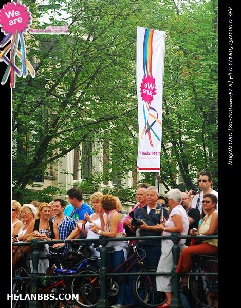 2011年阿姆斯特丹同性恋大游行狂欢活动 Gay Pride (6)