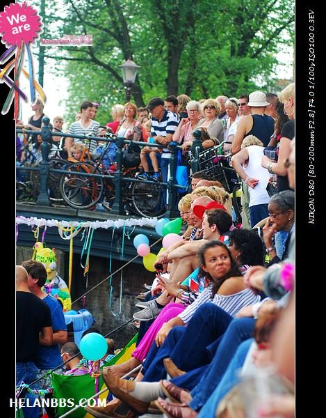 2011年阿姆斯特丹同性恋大游行狂欢活动 Gay Pride (5)