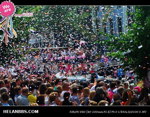 2011年阿姆斯特丹同性恋大游行狂欢活动 Gay Pride (3)