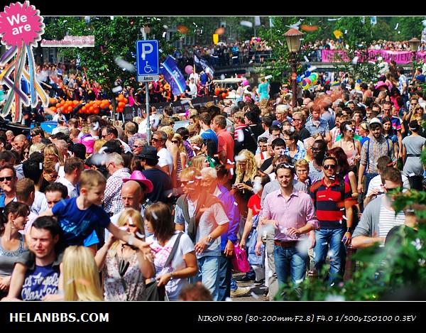 2011年阿姆斯特丹同性恋大游行狂欢活动 Gay Pride (2)